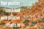 Actions, Thinking, and Success: May 16, 2017