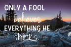 Don't be a Fool: May 19,2017